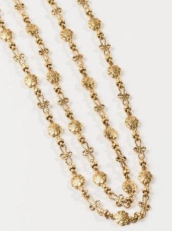 "30"" Daisy Chain Vintage Necklace"