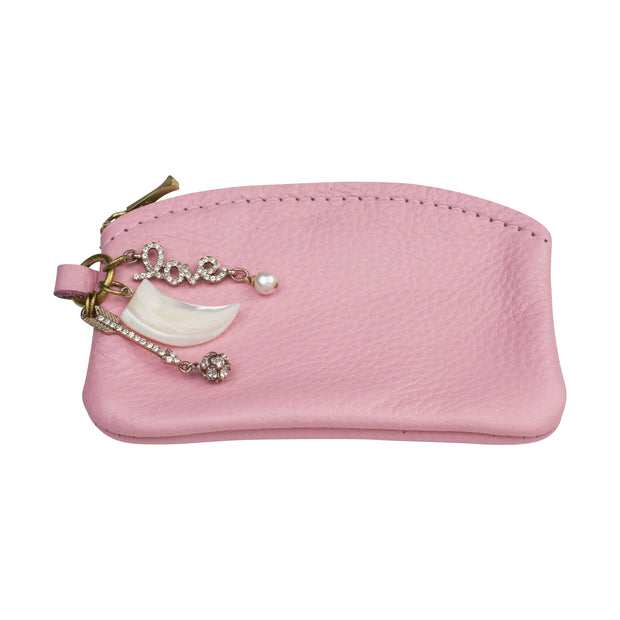 Cupid's Arrow Pink Coin Purse