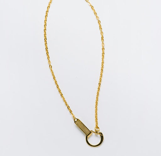 Vintage FOB Chain Necklace