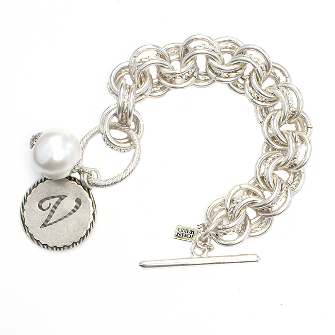NEW! The Collector's Sorority Gal Bracelet in Silver