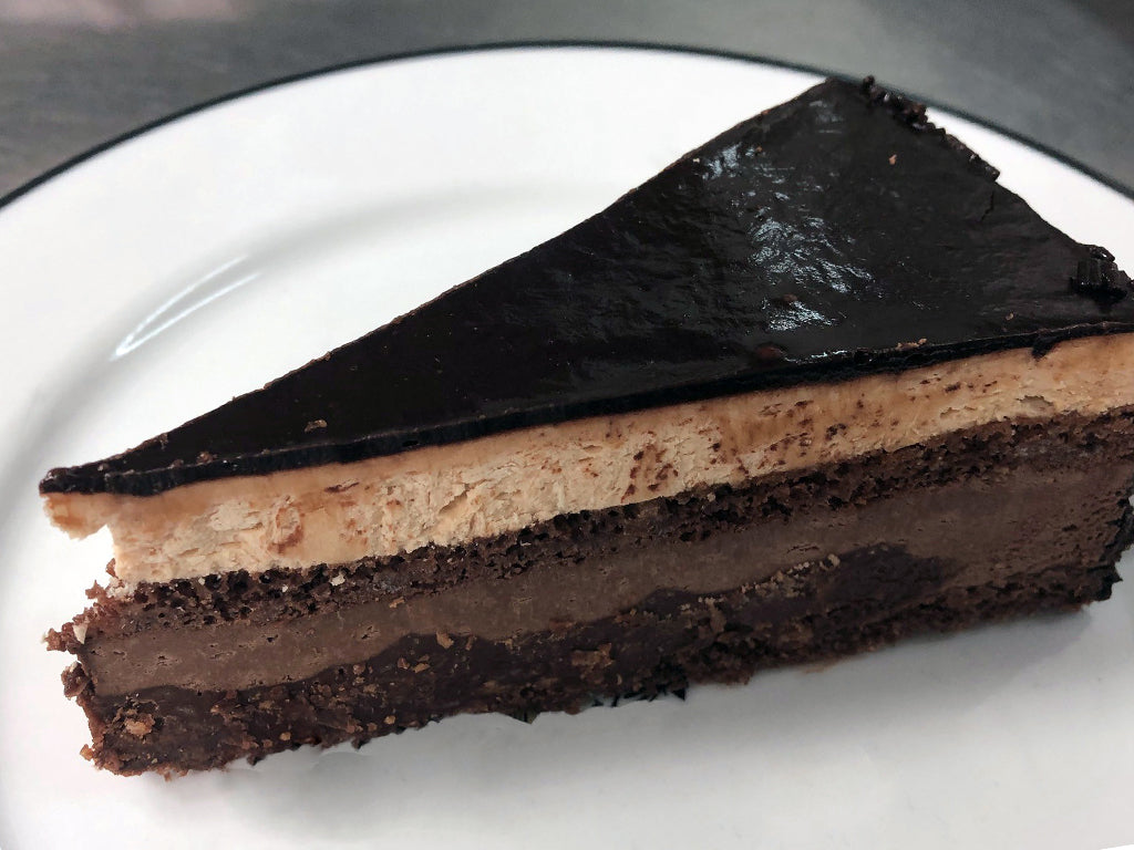 Ganache Chocolate Cheesecake