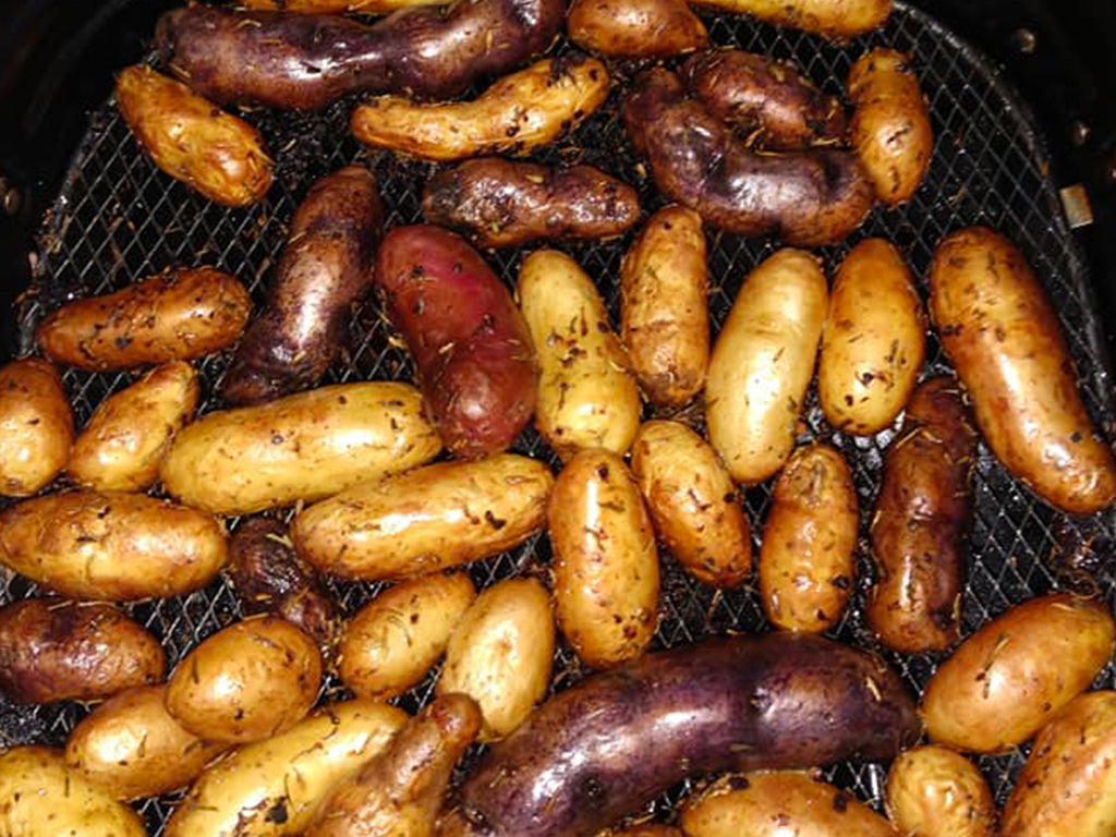 Rosemary & Garlic Fingerling Potatoes