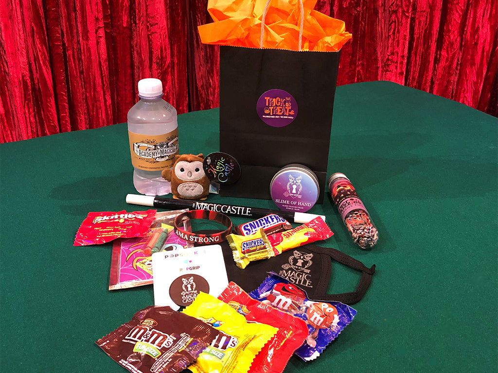 """Trick-Or-Treat"" Magic Castle Halloween Goodie Bag"