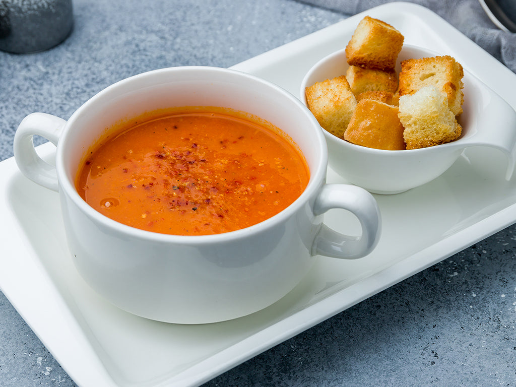 Roasted Tomato Bisque Soup