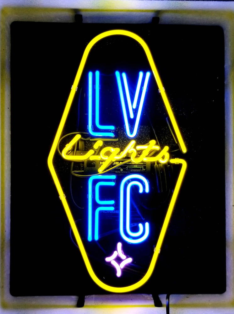 VEGAS LIGHTS FC NEON SIGN