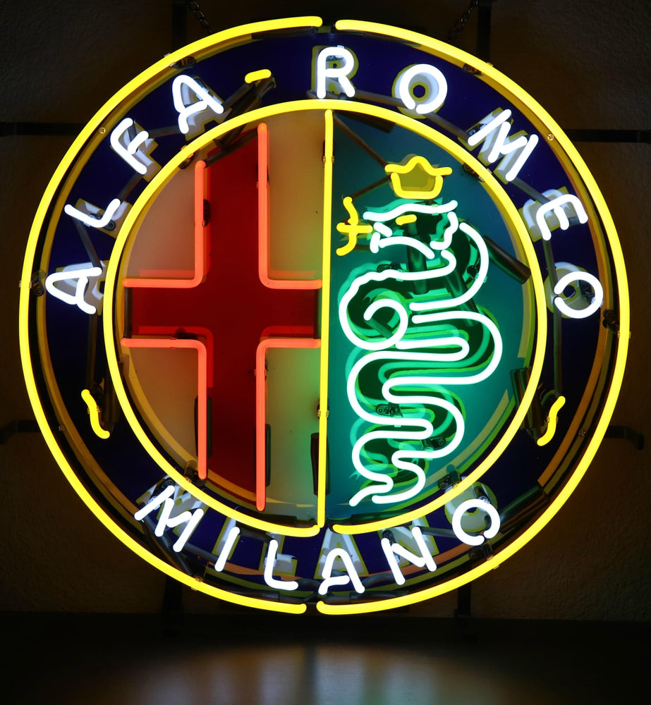 ALFA ROMEO NEON SIGN