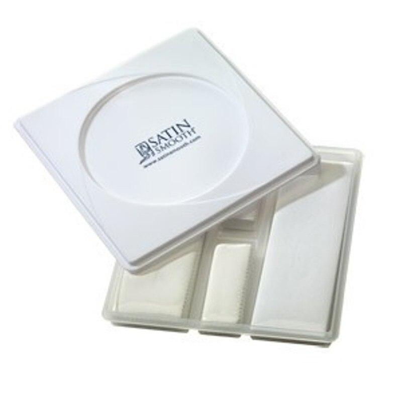 Satin Smooth Waxing Strip Tray 250 pcs
