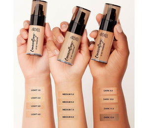Ardell Beauty CAMERAFLAGE HIGH-DEF FOUNDATION MEDIUM 6.0