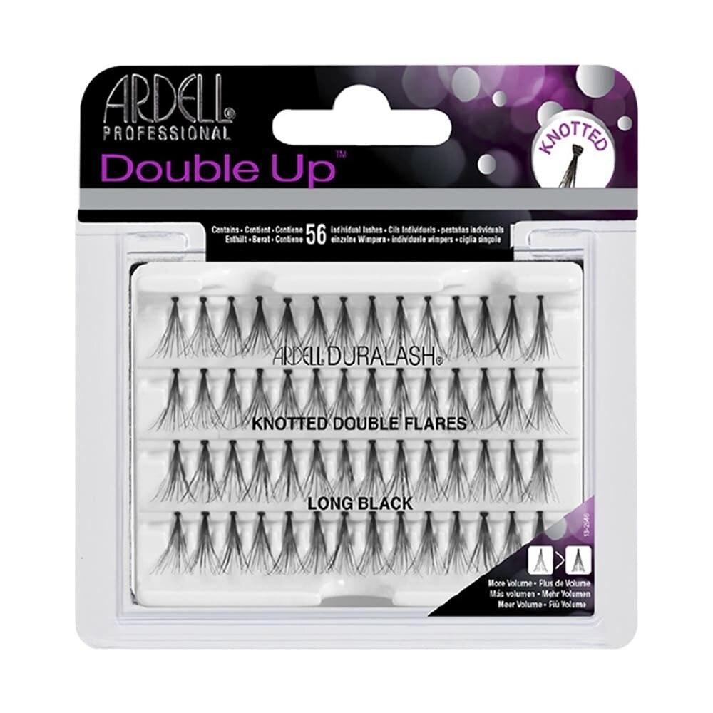 Ardell Lashes Double Individuals Knotted - Long Black