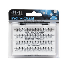 Load image into Gallery viewer, Ardell Lashes Flared Knot-Free Individuals - Medium Black