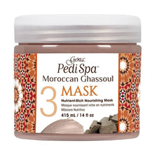 Load image into Gallery viewer, Gena Pedi Spa Moroccan Ghassoul Nutrient-Rich Nourishing Mask 415ml