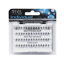 Load image into Gallery viewer, Ardell Lashes Flared Knot-Free Individuals - Short Black