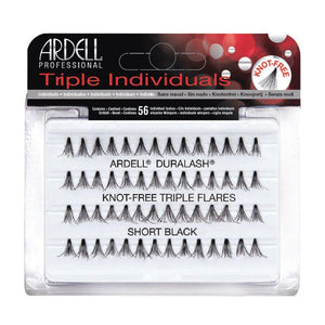 Ardell Lashes Triple Individuals - Medium Black