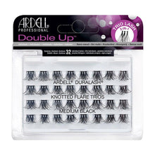Load image into Gallery viewer, Ardell Lashes Double Trio Individuals Medium Black