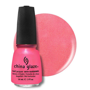 China Glaze Nail Lacquer 14ml - Pink Plumeria
