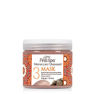 Gena Pedi Spa Moroccan Ghassoul Nutrient-Rich Nourishing Mask 415ml