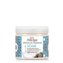 Load image into Gallery viewer, Gena Pedi Spa Moroccan Ghassoul Cleansing Mineral Soak 400g