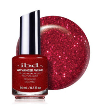 Load image into Gallery viewer, ibd Advanced Wear Lacquer 14ml - Cosmic Red