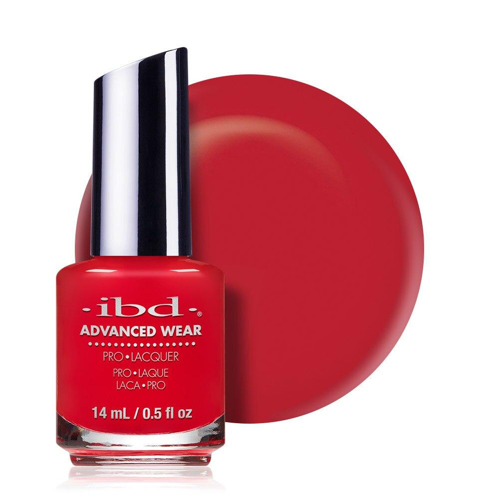 ibd Advanced Wear Lacquer 14ml - Lucky Red