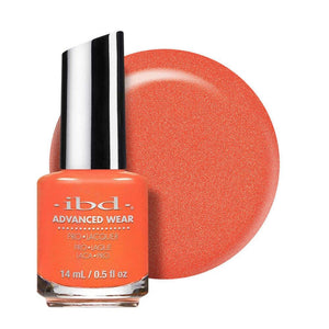 ibd Advanced Wear Lacquer 14ml - Peach Better Have My $
