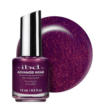 Load image into Gallery viewer, ibd Advanced Wear Lacquer 14ml - Purple Paradise