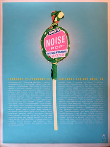 Noise Pop Festival 2016 Poster by Kii Arens