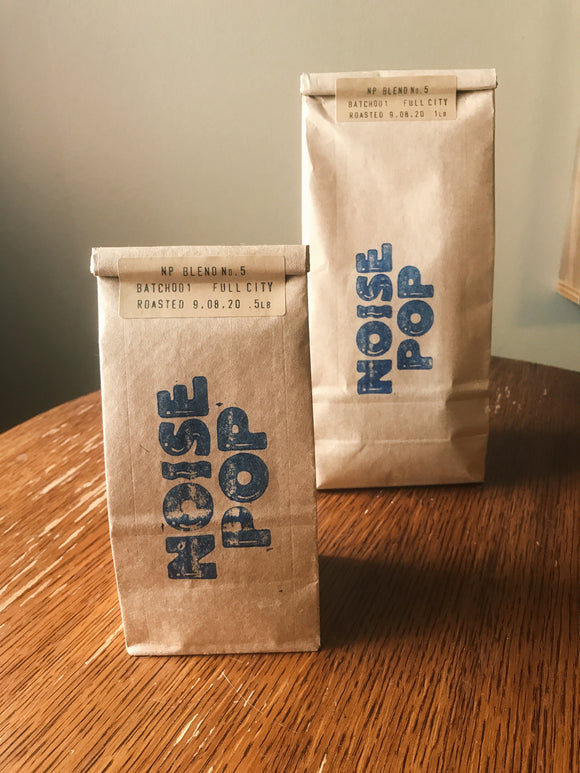 Noise Pop Coffee Blend No.5