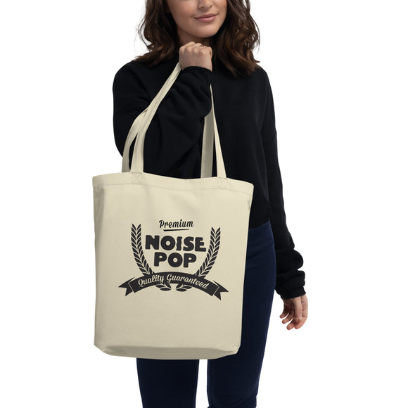 Premium Noise Pop Quality Guaranteed Eco Tote Bag