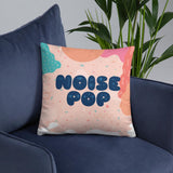 Chi Michalski Noise Pop 2018 Pillow