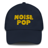 Noise Pop Classic Yellow Logo Dad hat