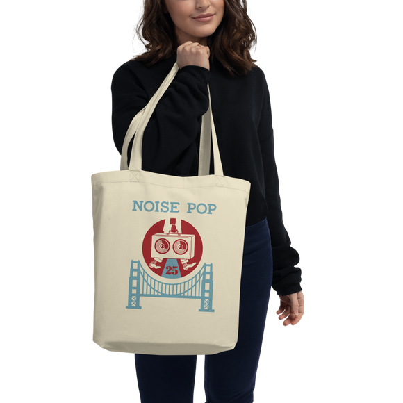 Shepard Fairey Noise Pop 25 Eco Tote