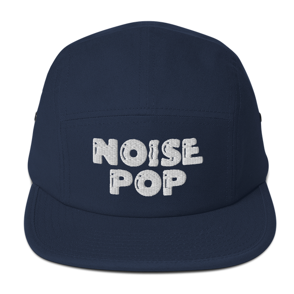 Noise Pop Classic Logo Five Panel Cap