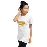 Noise Pop Yellow Logo T-Shirt