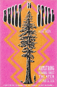 Built To Spill Armstrong Redwoods Noise Pop Poster