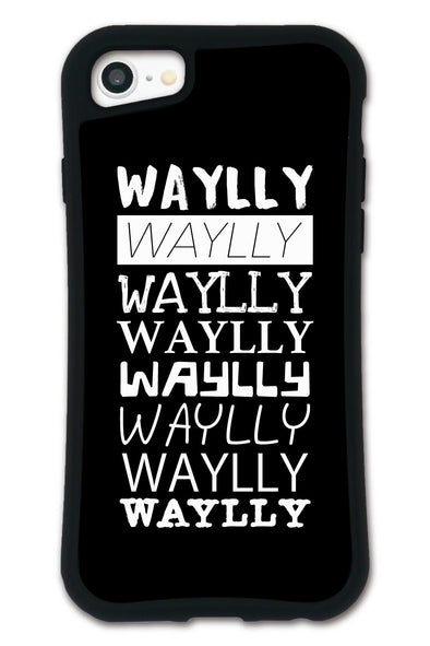 ■SET■ MAIN LOGO T Logo Black WAYLLY