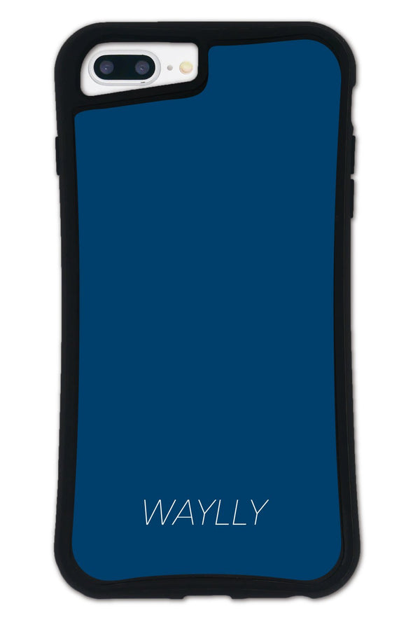 ■SET■ SMALL LOGO Navy WAYLLY