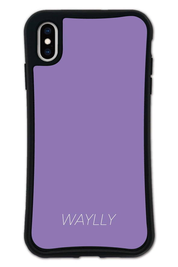 ■SET■ SMALL LOGO Purple WAYLLY