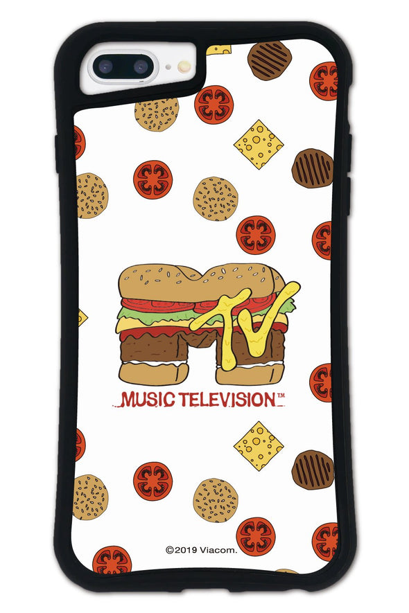 ■SET■ MTV ORIGINAL MTV Logo Hamburger Sand WAYLLY