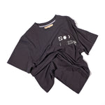 NEBO RELAXED FIT T-SHIRT / UNISEX / CHARCOAL