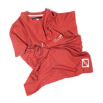 ZION SLIM FIT T-SHIRT / UNISEX / VINTAGE RED