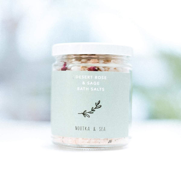 Nootka & Sea - Desert Rose & Sage Bath Salts