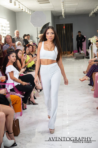 Model: Ashley Campos runway walk at Miss Robinson Fashion House