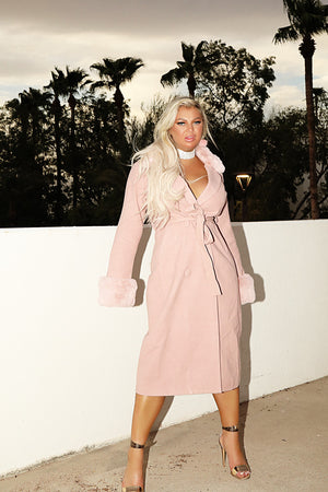 Pink Barbie Puff Coat