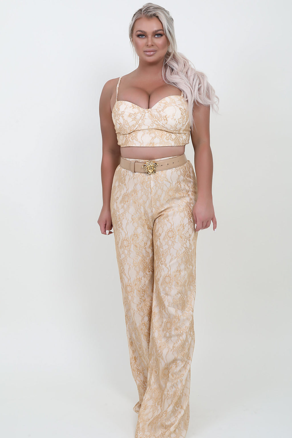 Gold Lace Bottoms