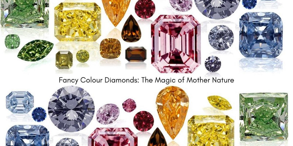 Fancy Colour Diamonds: The Magic of Mother Nature