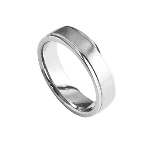 Furrer Jacot Mens Classic Wedding Band Ring