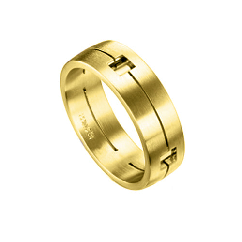 Furrer Jacot Modern Mens Wedding Band Ring