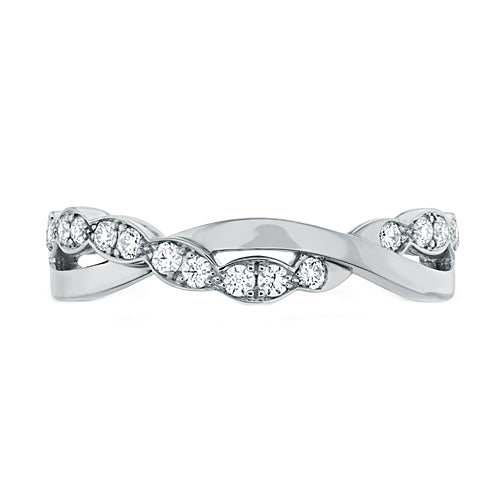 Hearts On Fire Lorelei Floral Twist Diamond Band