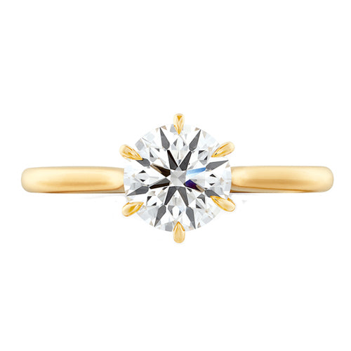 Hearts On Fire Camilla 6 Prong Engagement Ring