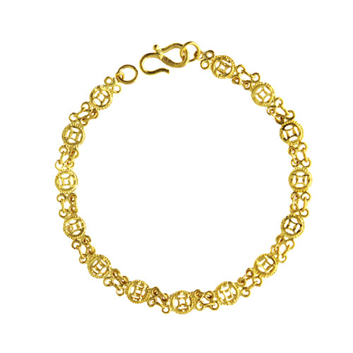 Pre-Owned 24K Filigree Bracelet